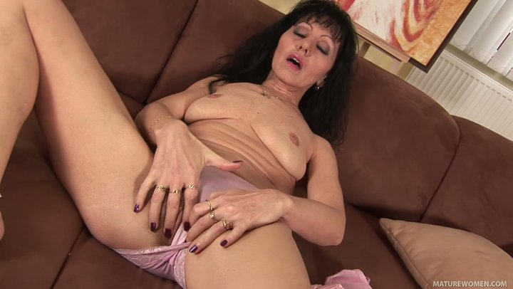 British Milf Stockings Solo