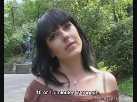 Sluts sucking cock in public